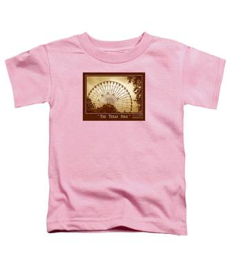Texas Star In Gold Toddler T-Shirt