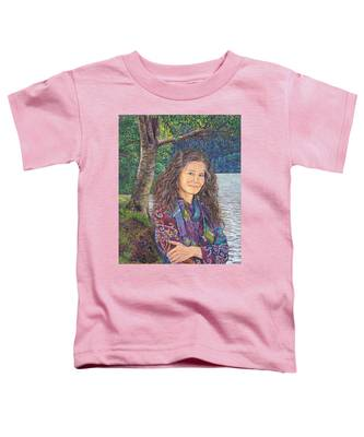 The Color Violet Toddler T-Shirt