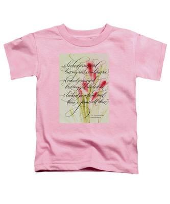 The Searcher By Thomas Blake Toddler T-Shirt