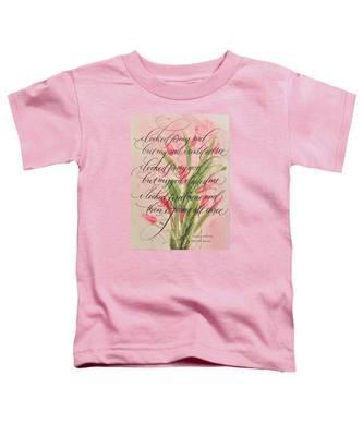 The Searcher II By Thomas Blake Toddler T-Shirt