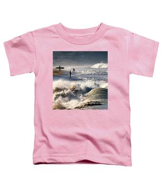 Waiting By Mike-hope Toddler T-Shirt