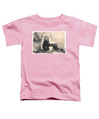 Girl In Jodpurs Toddler T-Shirt