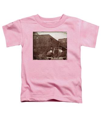 New 1936 Citroen Old Neighborhood Toddler T-Shirt