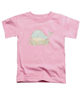 Whimsical Whale Toddler T-Shirt
