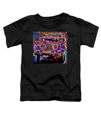 the Jeepney Toddler T-Shirt