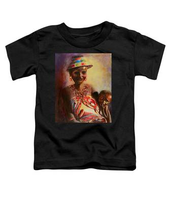 African Mother And Child Toddler T-Shirt