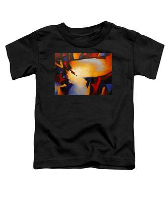 Abstract Red Blue Yellow Toddler T-Shirt