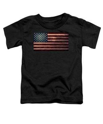 American Flag I Toddler T-Shirt