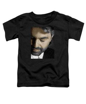 Andrea Bocelli And Vertical Toddler T-Shirt