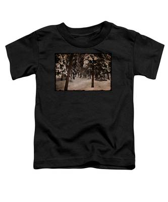 Antique Woodscape Toddler T-Shirt
