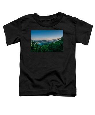 Beautiful Scenery From Crowders Mountain In North Carolina Toddler T-Shirt