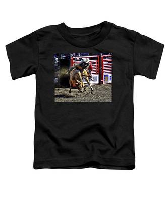 Buckin Bull Toddler T-Shirt