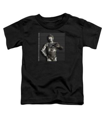 C-3po Mug Shot Toddler T-Shirt