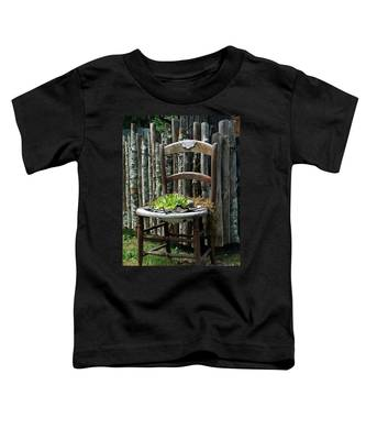 Chair Planter Toddler T-Shirt