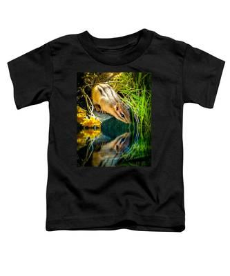 Chipmunk Reflection Toddler T-Shirt