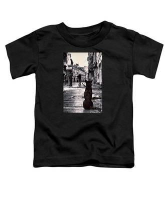 City Streets And The Theory Of Waiting Toddler T-Shirt