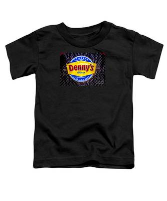 Classic Dennys Diner Sign Toddler T-Shirt
