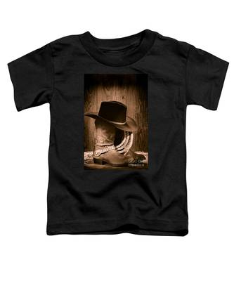 Cowboy Hat And Boots Toddler T-Shirt