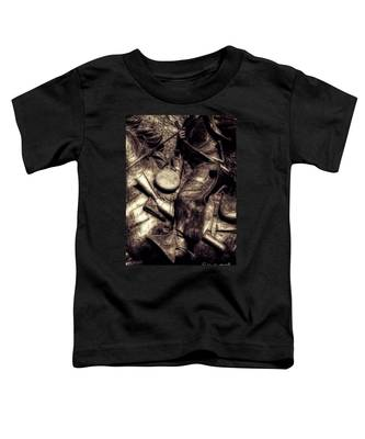 Cowboy In Bronze Toddler T-Shirt