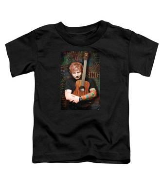 Ed Sheeran And Song Titles Toddler T-Shirt