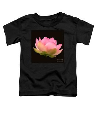 Glowing Lotus Square Frame Toddler T-Shirt