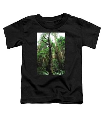 Groovin With The Redwoods Toddler T-Shirt