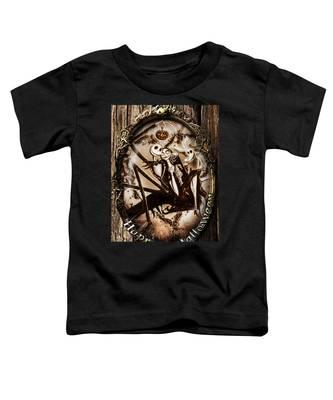 Happy Halloween IIi Sepia Version Toddler T-Shirt