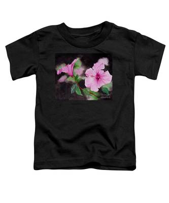 Hibiscus - So Pretty In Pink Toddler T-Shirt