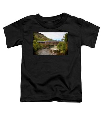 Honey Run Covered Bridge Toddler T-Shirt