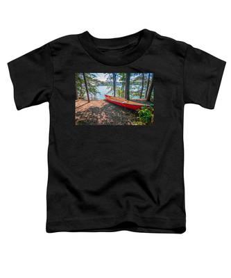 Kayak By The Water Toddler T-Shirt