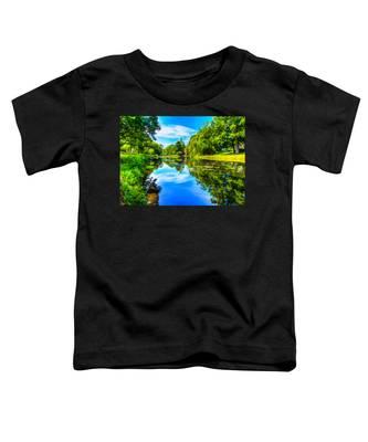 Lake Scene Toddler T-Shirt
