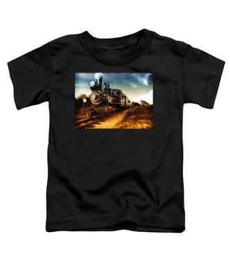 Locomotive Number 4 Toddler T-Shirt
