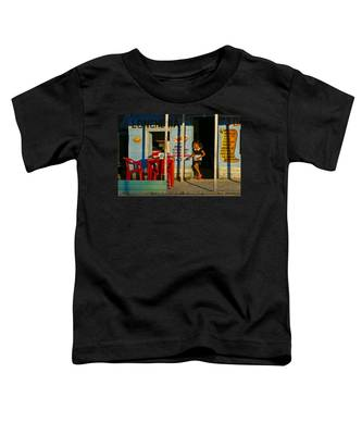 Toddler T-Shirt featuring the photograph Loncheria by Skip Hunt