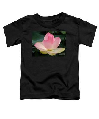 Lotus In Bloom Toddler T-Shirt