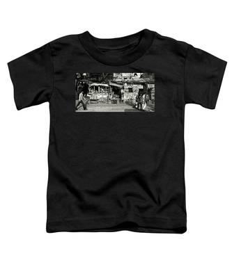 Man Woman And Schoolgirls Toddler T-Shirt