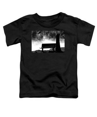 Morning Mist At The Spring Toddler T-Shirt