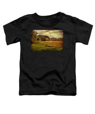 Old Barn In October Toddler T-Shirt