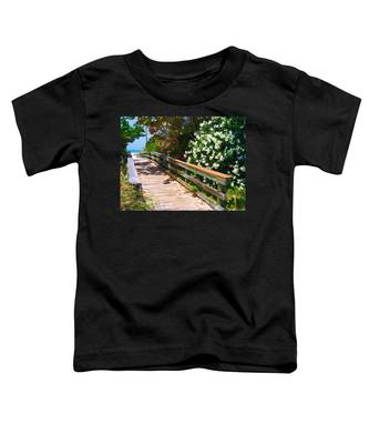 Pathway To Beach Toddler T-Shirt
