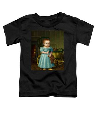 Portrait Of Sally Puffer Sanderson Toddler T-Shirt
