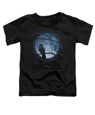 Raven Moon Toddler T-Shirt