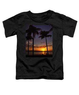 Sanibel Island Sunset Toddler T-Shirt