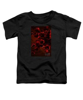 Shimmer In Red Toddler T-Shirt