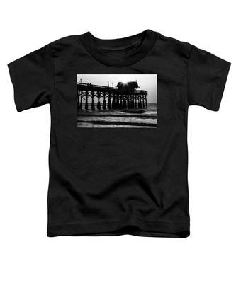 Sunrise Over Pier Toddler T-Shirt