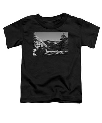 Tenaya Lake In Yosemite Toddler T-Shirt