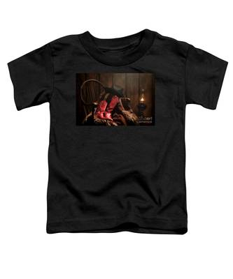 The Cowgirl Rest Toddler T-Shirt
