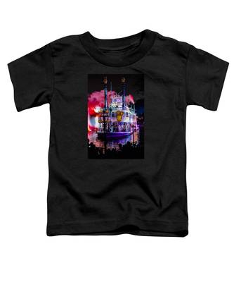The Mark Twain Disneyland Steamboat  Toddler T-Shirt