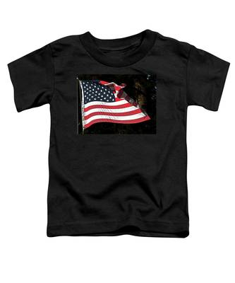 Waving Flag Toddler T-Shirt