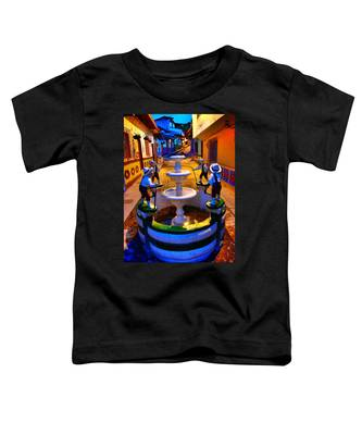 Toddler T-Shirt featuring the photograph Calle Del Recuerdo by Skip Hunt