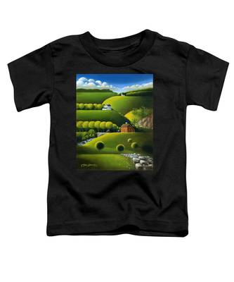 Foothills Of The Berkshires Toddler T-Shirt