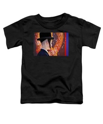 Pretzel Logic Toddler T-Shirt by Skip Hunt